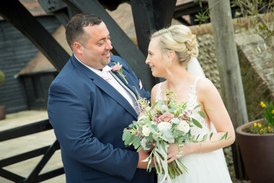 Anna & Tim - Blackstock Barn Country Estate, Hellingly